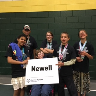 Newell Success at State Special Olympics