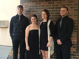 ​Newell School District's 2017 All-State Chorus Members