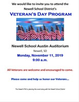 Newell School Veteran's Day Program