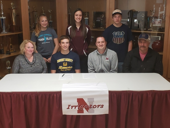 Congratulations to Payton Burtzlaff for signing his Letter of Intent to attend the Mount Marty College in Yankton, SD.