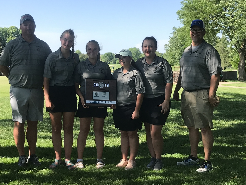 Girls 6th place at state