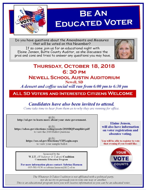 Educated Voter Night
