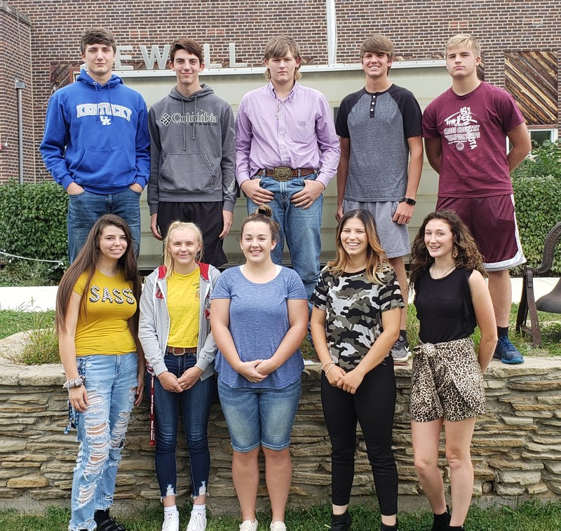 2019 Irrigator Homecoming Royalty
